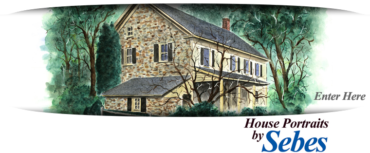 house drawings . com watercolor